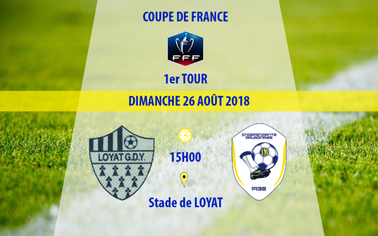 1er tour de coupe de France contre la GDY Loyat
